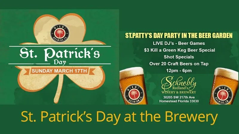 St. Patrick's Day at the Brewery