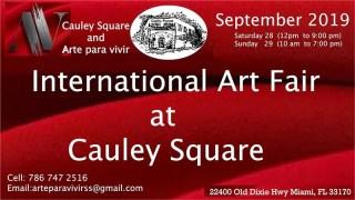 International Art Fair at Cauley Square