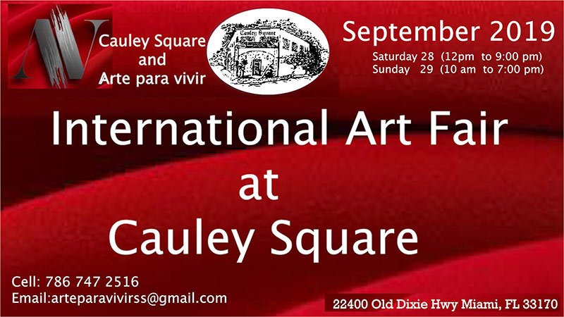 International Art Fair at Cauley Square