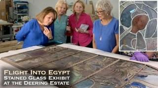 Flight into Egypt exhibit at Deering Estate