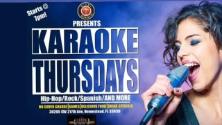 Karaoke Thursdays at the Brewery