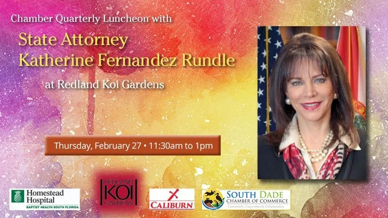 Chamber Quarterly Luncheon - State Attorney Katherine Rundle