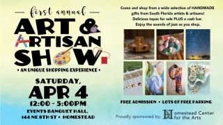 First Annual Art And Artisan Show - Homestead Center For The Arts