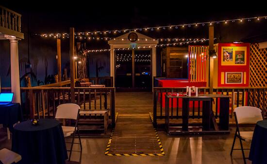 Main Room at Midnight