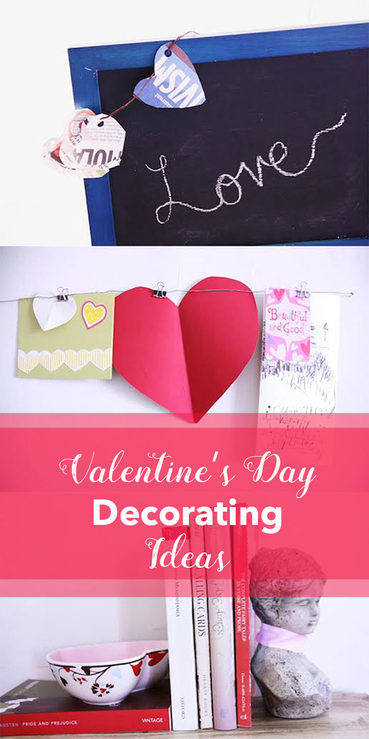 5 Valentine's Day Home Decorating Ideas | redleafstyle.com