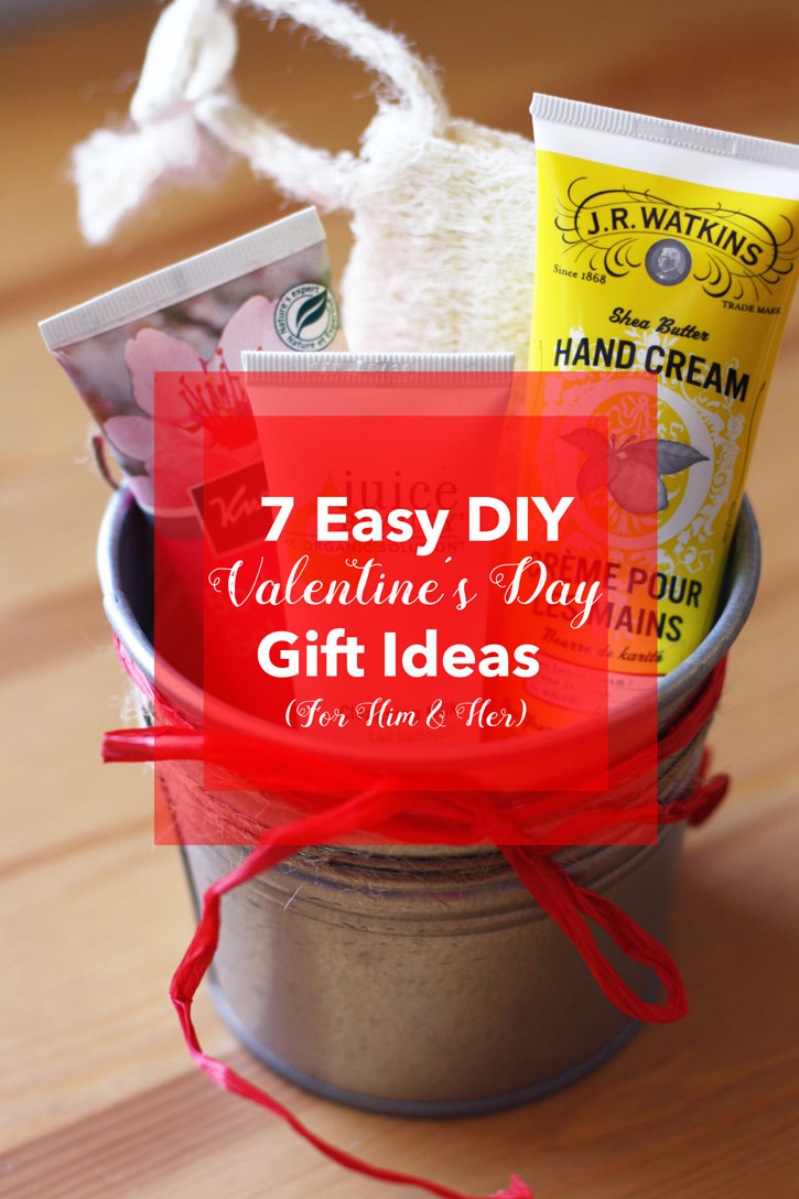 7 Easy DIY Valentines Day Gift Ideas For Him Amp Her