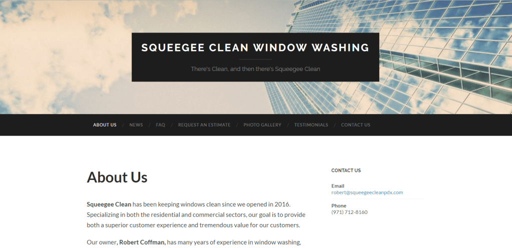 Squeegee Clean PDX