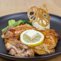 特製甘辛だれチキンステーキ(国産鶏使用)
