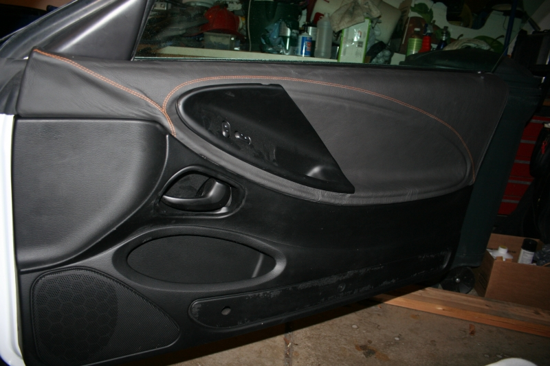 Leather DOOR PANELS Now Available For 94 04 Mustangs