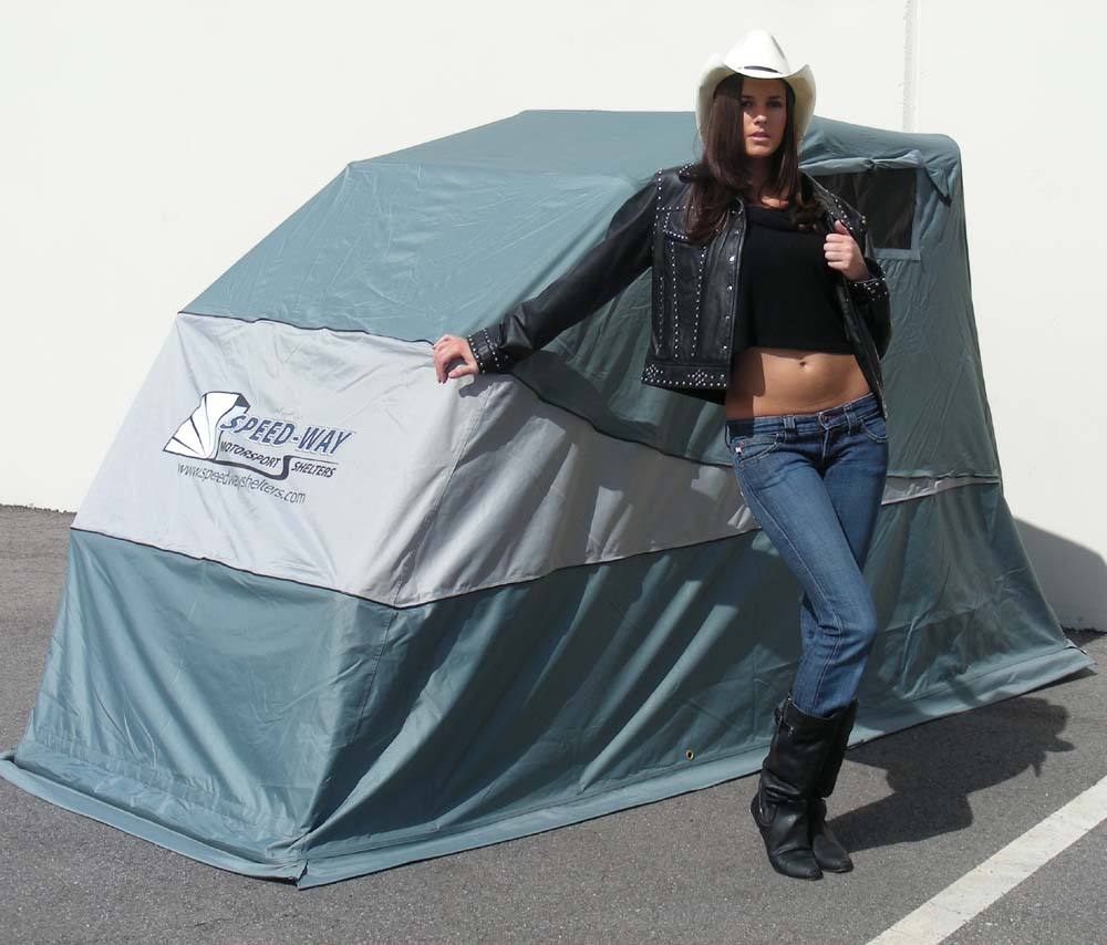 Speedway Motorcycle Storage Shelter FREE SHIPPING