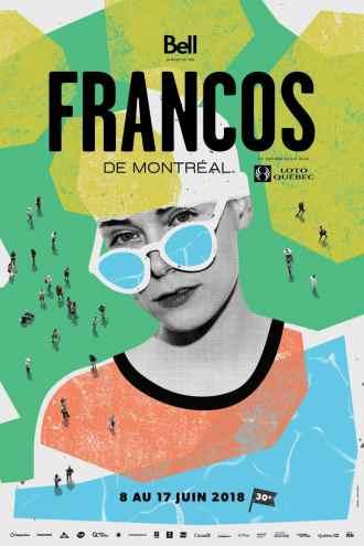 Affiche Francos Montréal 2018