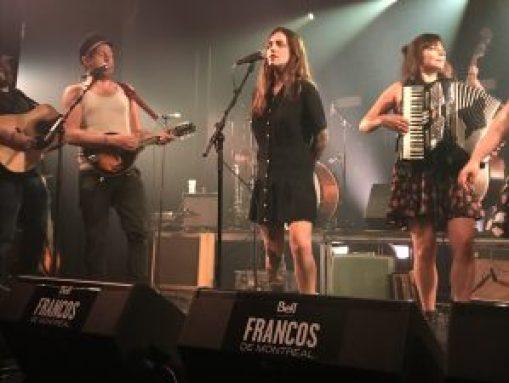 Canailles au Club Soda - Francos 2018 - Crédit : Clotilde Morin
