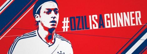 ozil is a gunner