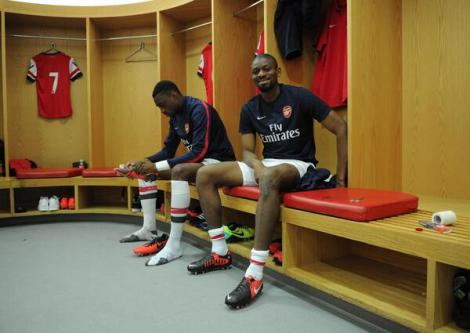 diaby dressing room