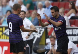 Van Persie reveals the gifted Arsenal player he's most excited about