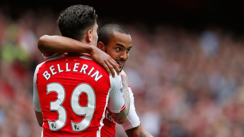 bellerin and walcott