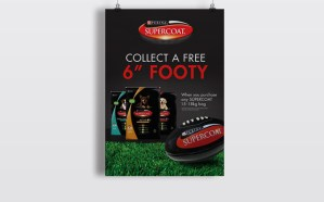 Purina Supercoat Poster Design - Sydney Graphic Design