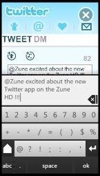 Zune HD Twitter App