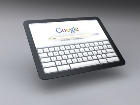 googlet tablet computer