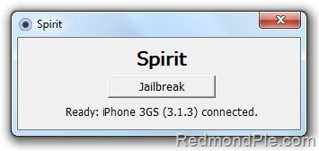 Spirit with iTunes 9.2