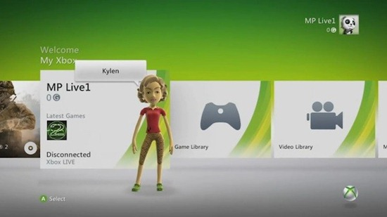 New Xbox 360 Dashboard. The new Dashboard update looks more like a clean