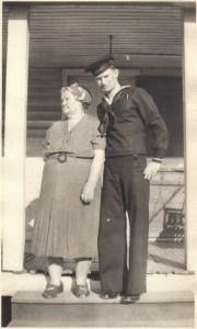 GRANDMA AND UNCLE CHUCK WW II