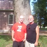 Dad and Donovan at the Hermitage