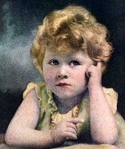 PRINCESS ELIZABETH AS A LITTLE GIRL