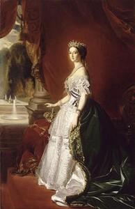 Empress Eugenie by Franz Winterhalter