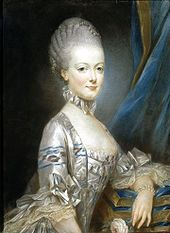 Marie Antoinette at the age of 13