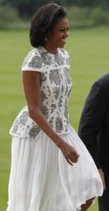 Mrs. Obama at Buckingham Palace