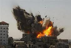 Hamas attacking Israel