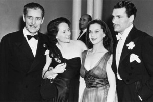 Vivien Leigh and Lord Olivier with the Colemans