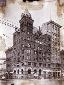 Callahan Building home of Winters Bank