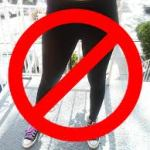 No leggings