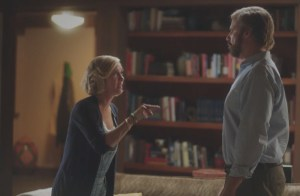 Kristen Wiig (l) and Will Ferrell star in the Lifetime television movie 'A Deadly Adoption,' premiering Saturday, June 20, at 8pm ET/PT on Lifetime. Credit: Lifetime [Film still] [Via MerlinFTP Drop]