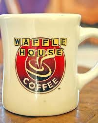 Waffel house mug