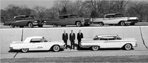 McNamara and the 1959 Ford Line UP