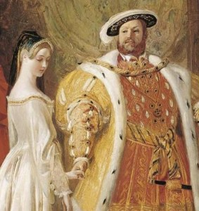 Anne B and Henry VIII