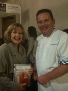 Jane Boyce MW and Pat Whelan discuss wines to go with Pat's recipes.