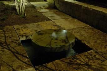 Millstone Fountain Shadow Effect