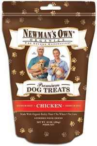 Newman's Own Organics Premium Dog Treats Review