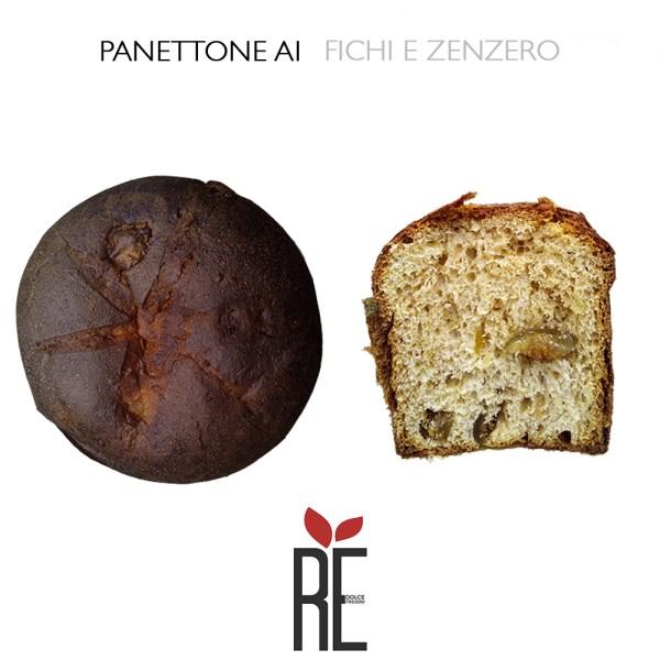 PANETTONE FICHI E ZENZERO