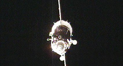 Russian Soyuz Capsule Docks With ISS