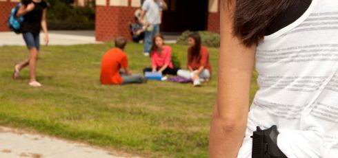 Children More Apt To Bring A Gun Or Knife To School When Bullied