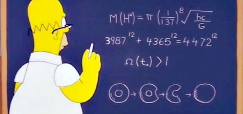 D'oh! Did Homer Simpson predict the mass of the Higgs boson?