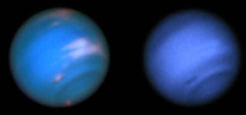 Hubble spots 'Dark Vortex' on Neptune