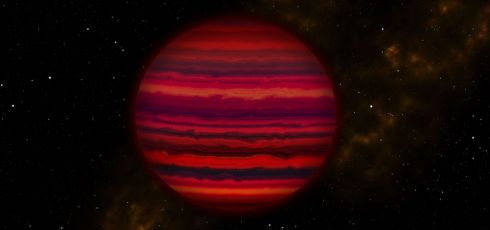 Brown dwarf contains first water clouds spotted outside solar system