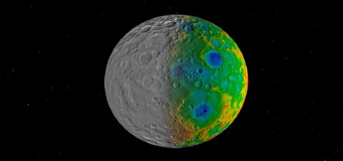 Why aren't there large craters on Ceres? NASA weighs in.