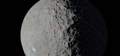 NASA maps out all icy craters on Ceres